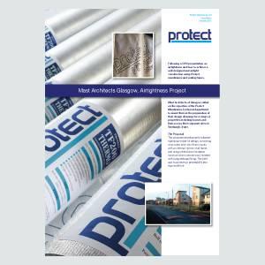 Mast Architects, Glasgow - Airtightness Project