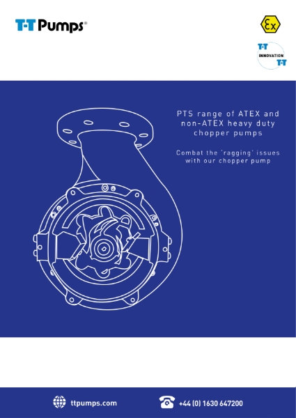 T-T Pumps PTS Range - ATEX and Non-ATEX Booklet