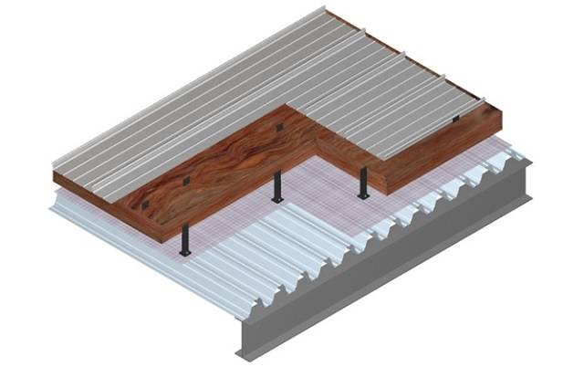 Kalzip Deck Roof System 0.20 U-Value