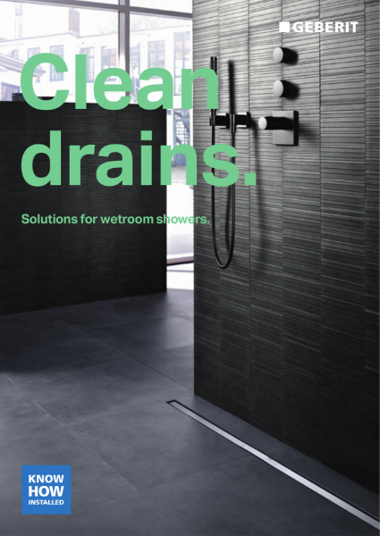 Clean Drains: Soloutions for wetroom showers