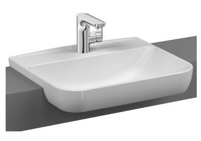 Sento semi-recessed washbasin