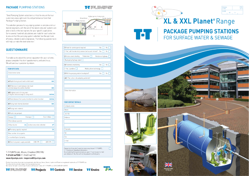 XL and XXL Pumping Stations