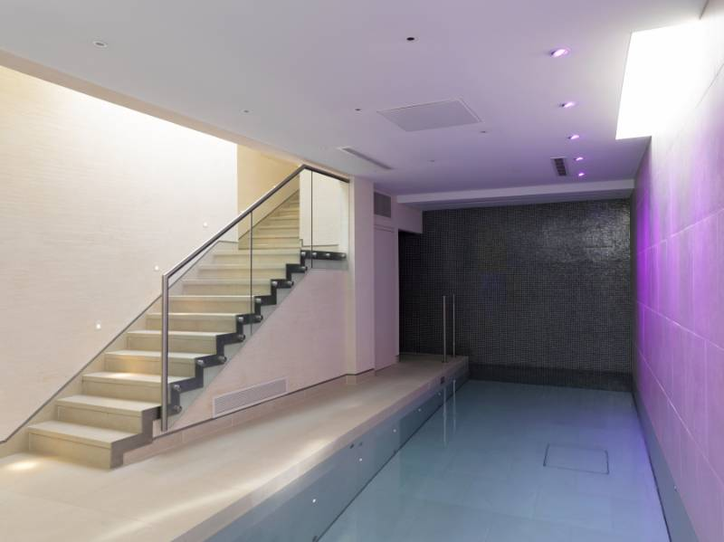 Private Home, London UK: A Multi-Functional Basement – Pool with Secure, Safe & Dry Play Area