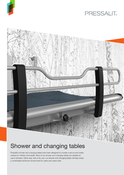 Pressalit Shower and Changing Tables