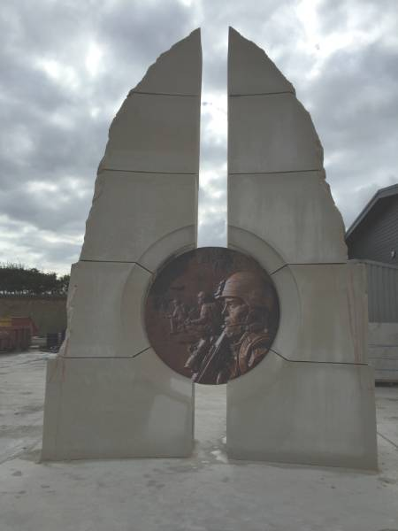 Iraq, Afghanistan & Gulf War Memorial - Portland Stone