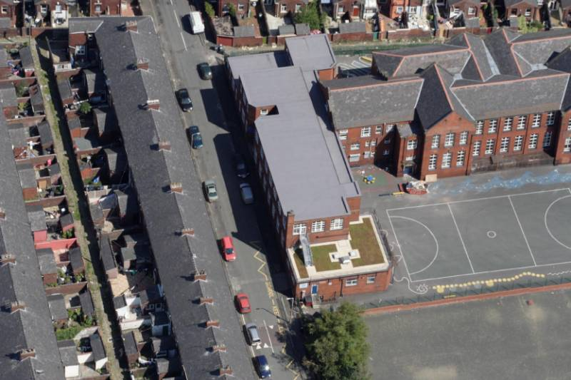 Donation of Green Roof Helps School Children to Appreciate Sustainability