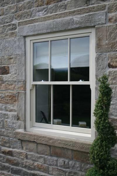 Timber Sash Window – Spiral Balanced