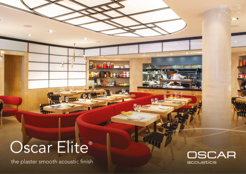 Oscar Elite Brochure - Acoustic Plaster