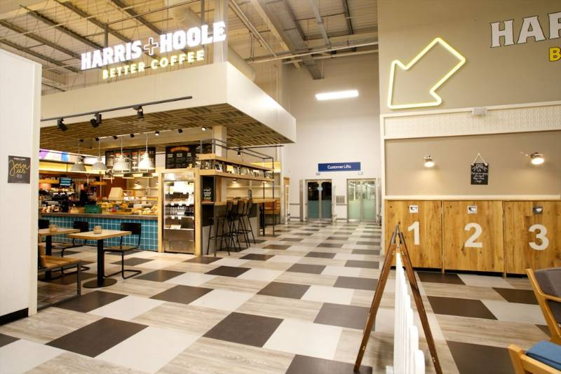 Expona flooring range brings extra flavour to coffee shop