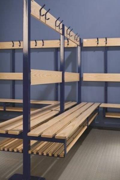 Island Changing and Cloakroom Units