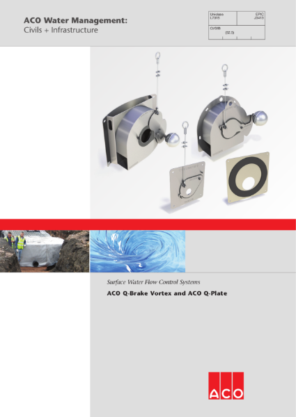 ACO Q-Brake Vortex and Q-Plate brochure