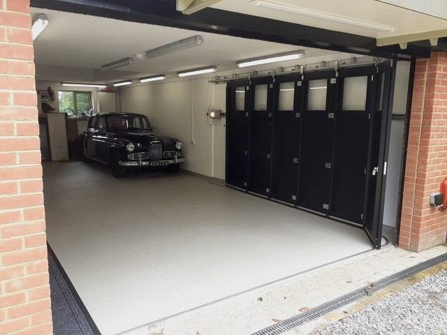 Creating the perfect garage for classic Humber car collection