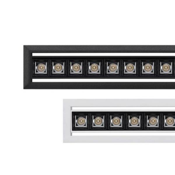 Foss Recessed Trim Adjustable Modular Linear Lighting