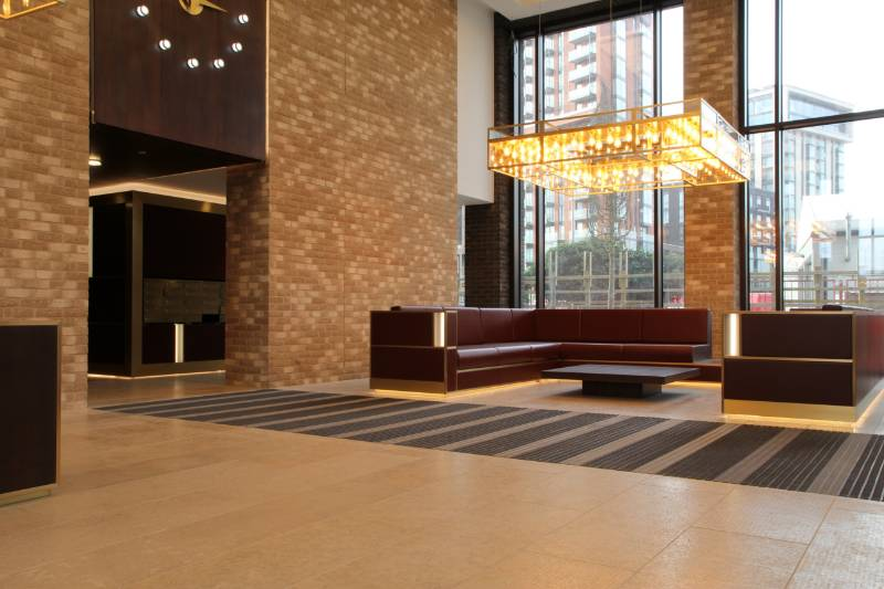 High-Quality Entrance Matting Featured at New London Apartment Building