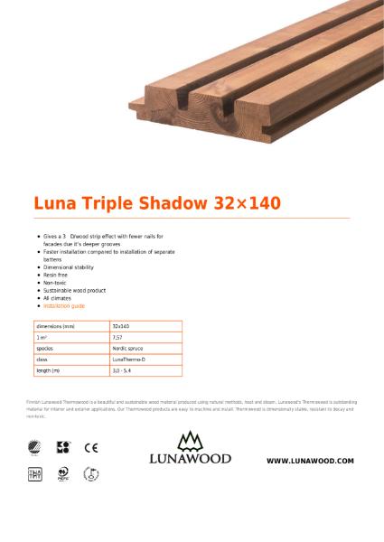 Luna Triple Shadow