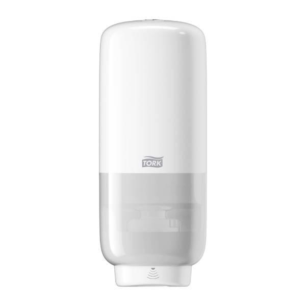 Tork Foam Skincare dispenser with intuition dispenser