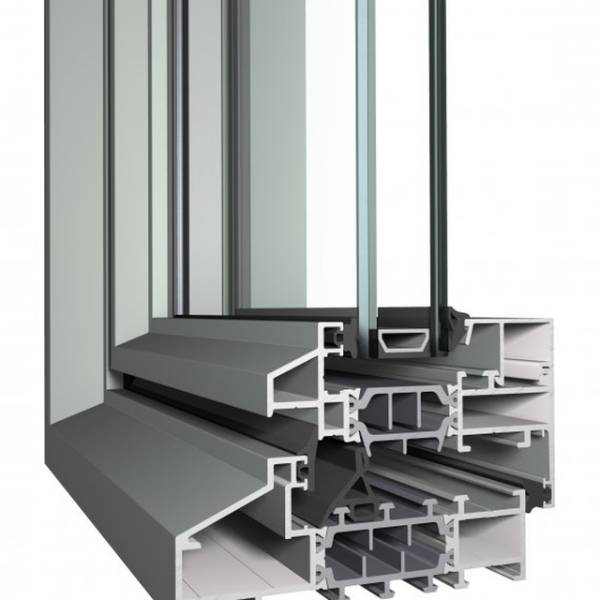 Aluminium Window SL38 Slim Line System