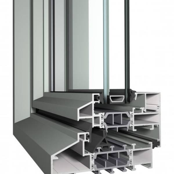 Aluminium Window SL38 Slim Line System