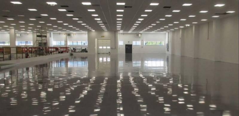 Resin flooring system Resuflor Topfloor X