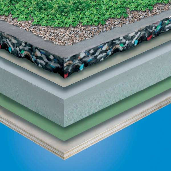 TG66 Green Roof System - Recycled High Density Polyethylene Drainage Board
