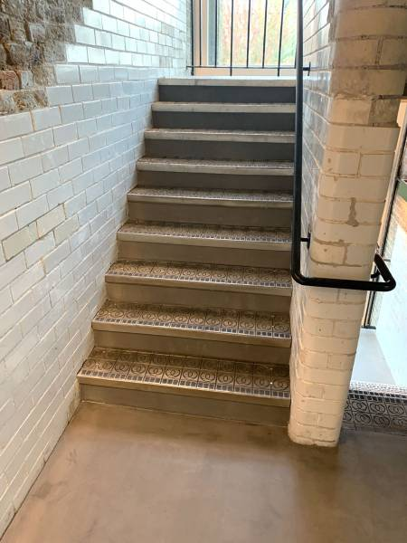 Concrete Stairs at Pennybank