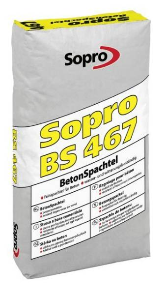 Sopro BS 467 - CT Mineral Skim Coat