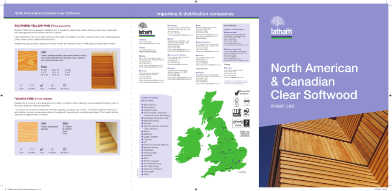 Softwood - North American & Canadian Softwood Clears