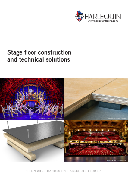 Harlequin - Stage floor construction and technical solutions