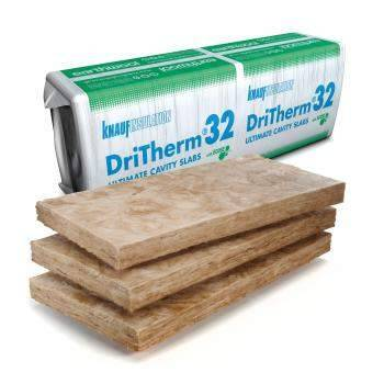 Earthwool DriTherm Cavity Slab 32 Insulation