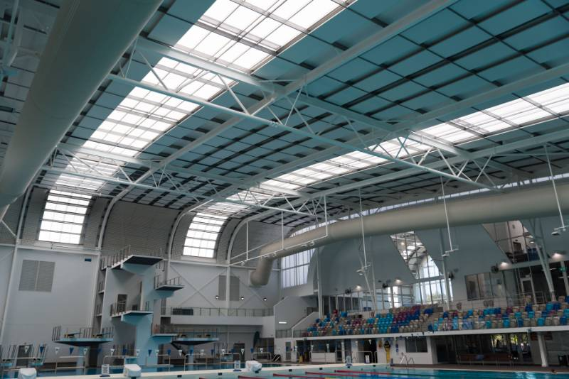 SUNPAL Skylight at the Ringwood Aquanation Centre in Melbourne, Australia