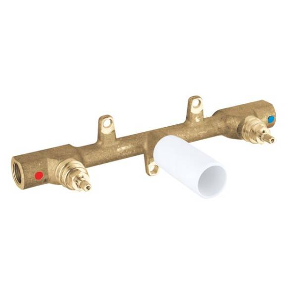 Two-Handle Basin Mixer Concealed Body, 1/2""