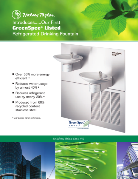 Halsey Taylor GreenSpec Products 2