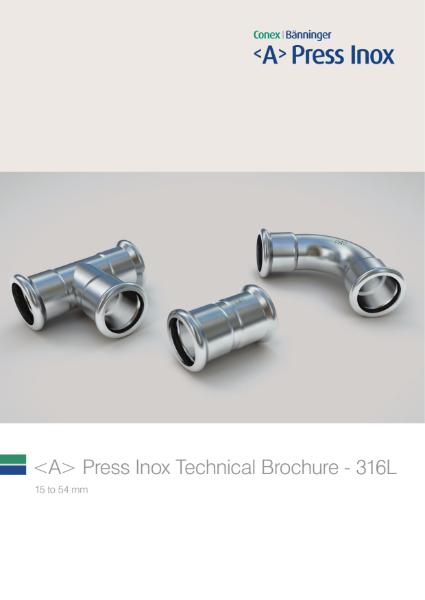 <A> Press Inox 316L Technical Brochure
