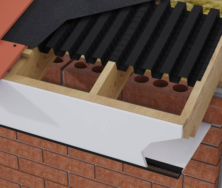 Roll Form Eaves Vent Roll Out Rafter Tray