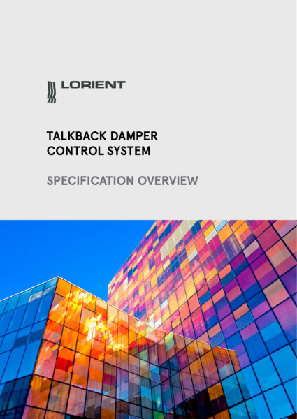 Lorient Talkback Specification Overview