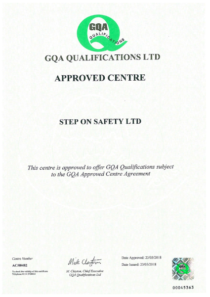 GQA Approved Centre (NVQ)