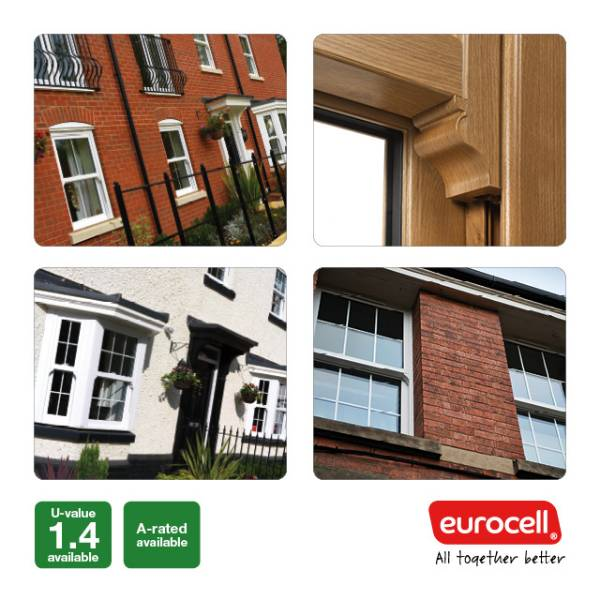 PVC-U Vertical Sliding Sash Windows