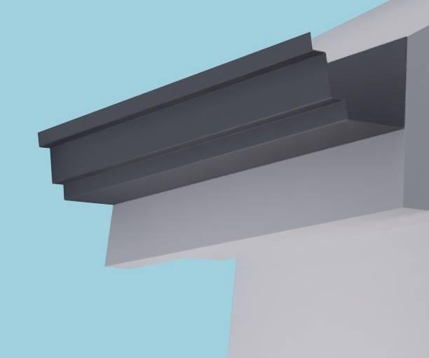 Welland Aluminium Gutter