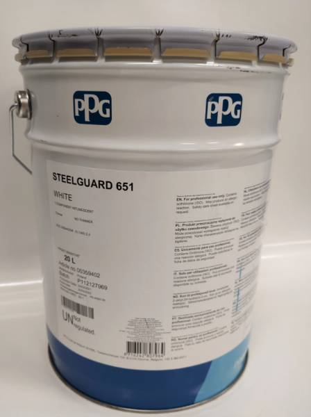 PPG STEELGUARD 651 Intumescent coating