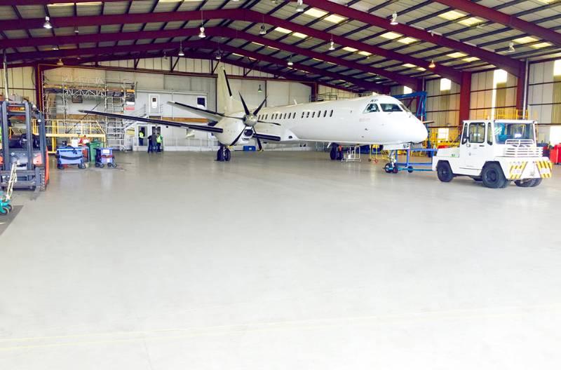 BMI Regional Installs Specialist Aviation Industry Floor Finish