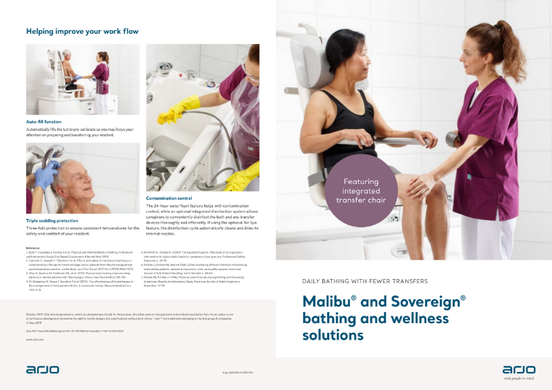 Bathing and Wellness Solutions - Malibu and Sovereign