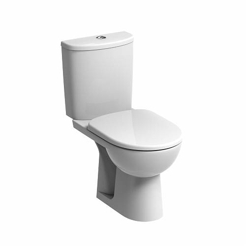 E100 Round Close Coupled Standard WC Suite