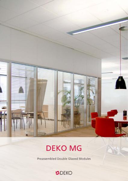 Deko MG - Preassembled Double Glazed Modules