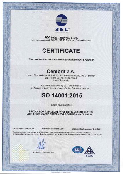 Fibre cement slates & corrugated sheet - EMS