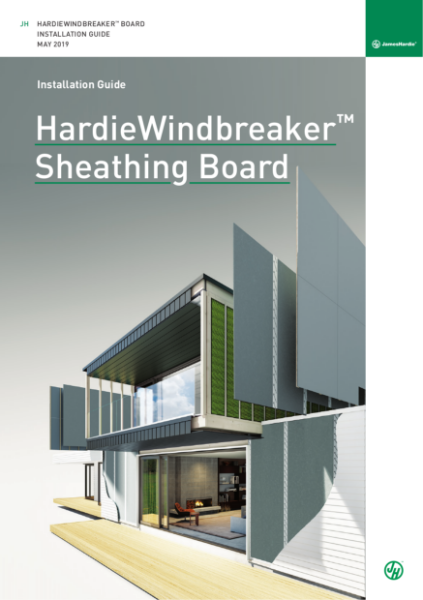 Fiber Cement Sheathing Board Install Guide