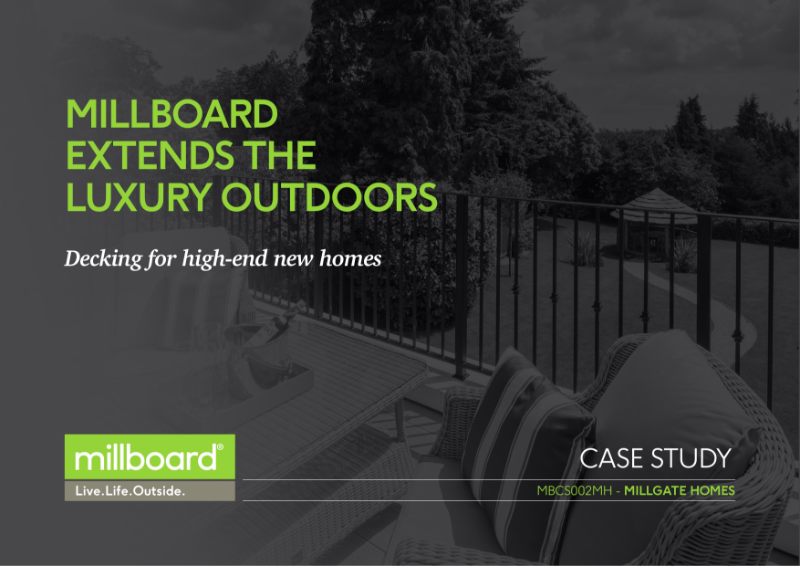 Millboard Millgate Homes Case Study