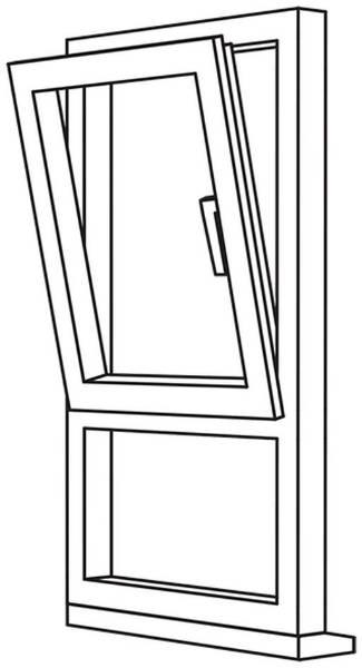 Zendow 5000 Tilt & Turn (Standard Sash) - TT8 Opener/Fixed