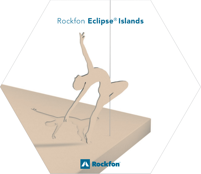 Acoustic Ceiling Islands with Rockfon Eclipse