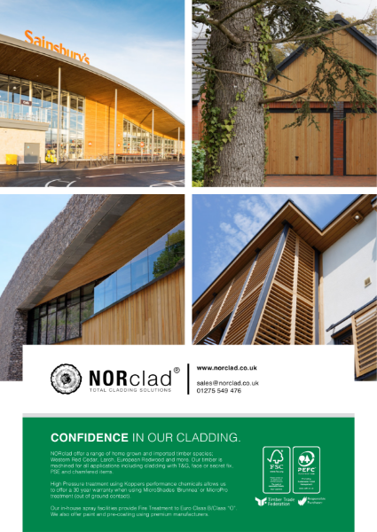 NORclad Timber Cladding - Flyer