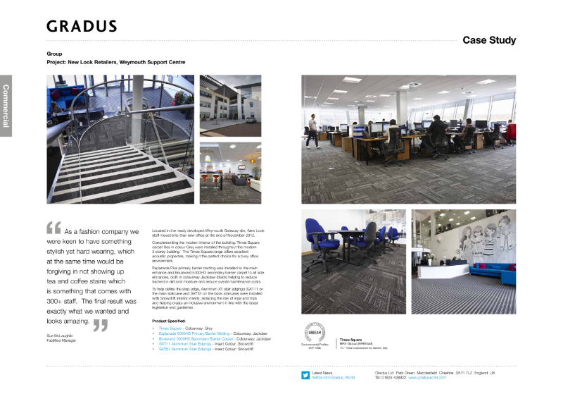 New Look Matting Case Study